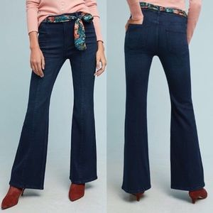 Pilcro and The Letterpress High Rise Flare Jeans